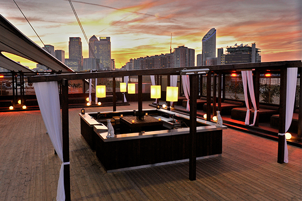 Terrace: Building Six at The O2